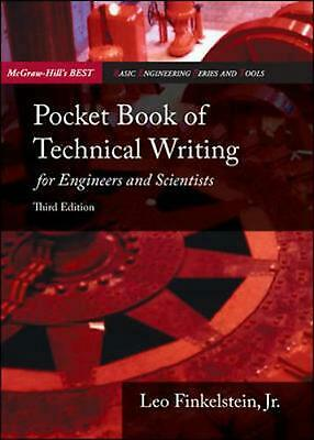 Pocket Book of Technical Writing for Engineers & Scientists by Leo Jr. Finkelste