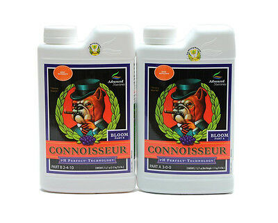 Advanced Nutrients Connoisseur Bloom A & B Set 1 Liter - ph perfect new formula