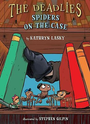 Spiders on the Case by Kathryn Lasky Hardcover Book (English)