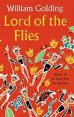 Lord of the Flies by William Golding (English) Paperback Book Free Shipping!