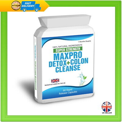 60 Max Cleanse Pro Colon Cleanse Detox Plus Free Weight Loss Dieting Tips