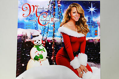 MARIAH CAREY - Merry Christmas II You OFFICIAL POSTER *HARD TUBE CASE* Both Side