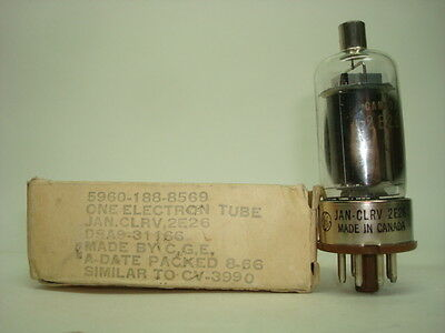2E26 Tube. Mixed Brand Tube. Nos/ Nib. Rc54.