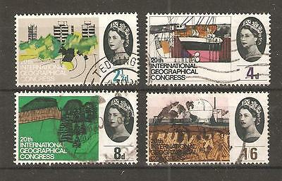 Commems - 1964-  Int Geographical Congress -  Used