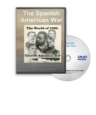 The 1898 Spanish American War Film Series on DVD - A273