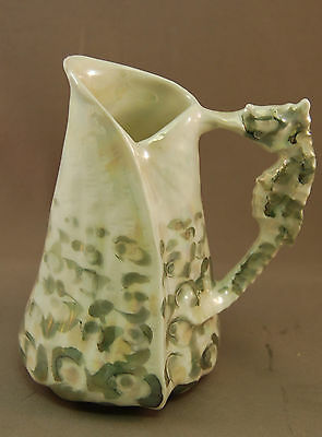 Spikey Shell Royal Bayreuth Sea Horse VERY RARE Milk Pitcher!