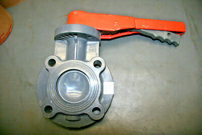 George Fischer 3 Inch IPS PVCI EPDM Butterfly Valve