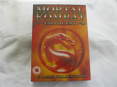 MORTAL COMBAT - CONQUEST 5 disc collection - NEW  {DVD}