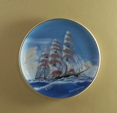 GREAT REPUBLIC Plate The 25 Great American Sailing Ships Porcelain Miniatures