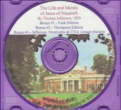 The Thomas Jefferson Bible - The Life and Morals of Jesus of Nazareth