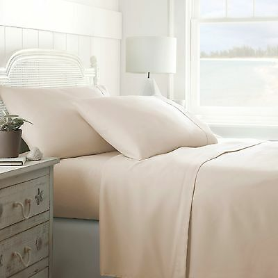 1500 THREAD COUNT DEEP POCKET 4 PIECE BED SET - 12 COLORS AND ALL SIZES!