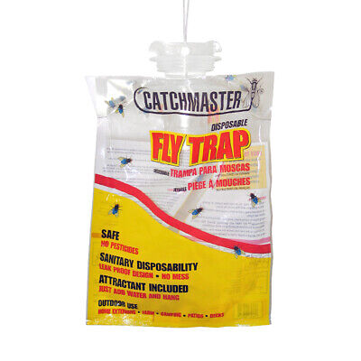 Catchmaster Disposable Fly Bag Trap Control House Flies No Chemical Insecticides