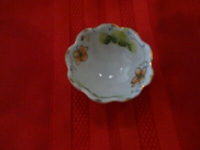Lovely Small Japanese Condiment Bowl Exquisite Porcelain