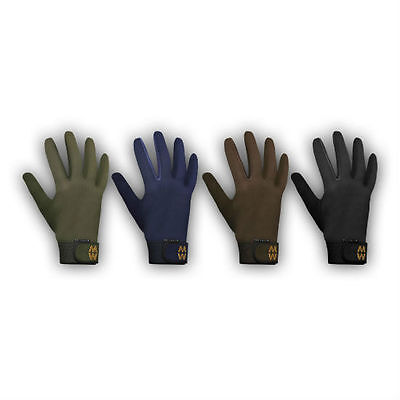 Macwet Climatec Long Cuff Gloves for Riding, Shooting, Hunting in 3 colours