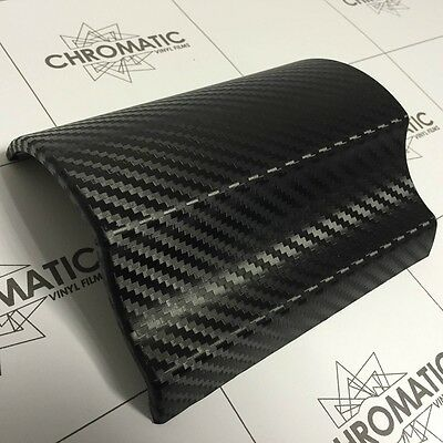 3D Carbon Fibre Vinyl 152 x 90cm - Black - Wrap Car,Bonnet,Roof,Dash,Spoiler