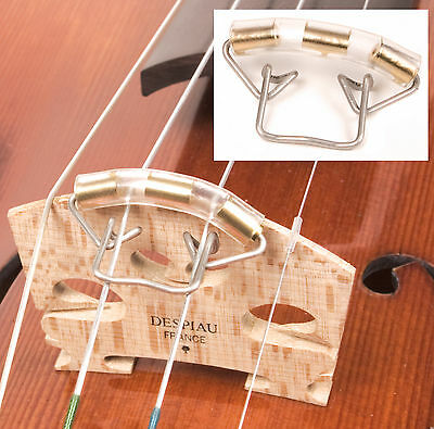 Wire Slide-On Mute for 3/4 - 4/4 Violin