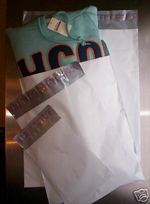 50/50 ~ Poly Mailers 10X13 & 12X15.5 ~ 100 TOTAL Bags