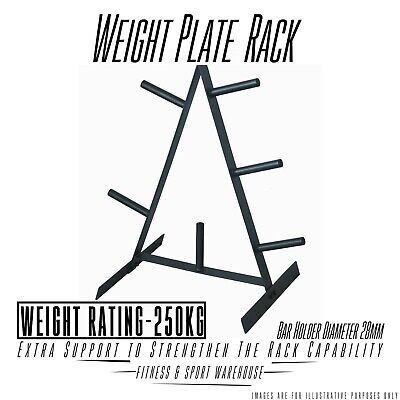 Weight Plate Tree Rack - Standard plate Home Gym