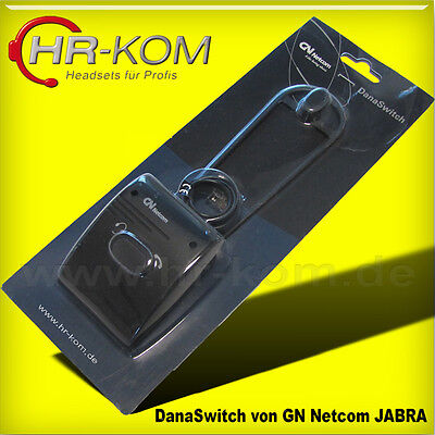 Danaswitch 1600-719 Headset Telefon Umschalter Jabra GN Netcom Dana Switch