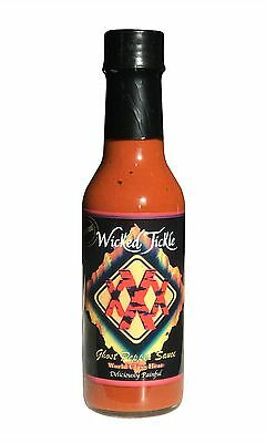 Ghost Pepper Hot Sauce Wicked Tickle XXX World's Hottest Chipotle Hot Sauce