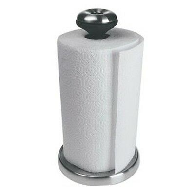 New Stainless Steel Elegant Kitchen Paper Towel Roll Holder Stand