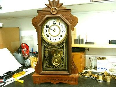 Clock Repair DVD Video - Repairing the Ingraham Time & Strike Mantel Clock