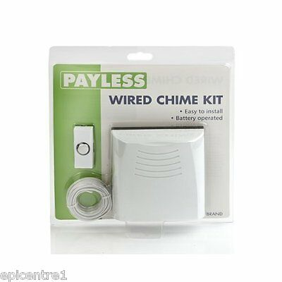 Friedland Doorman Wired Chime & Push With Cable Included Dc859P