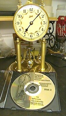 Clock Repair DVD Video - Repairing the Schatz 400 Day Anniversary Clock