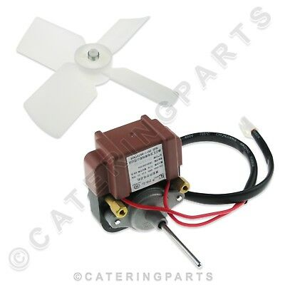 Aa640 Dual Shaft 220V Fan Motor For Polar Sc-70 G619 Refrigerated Drinks Display