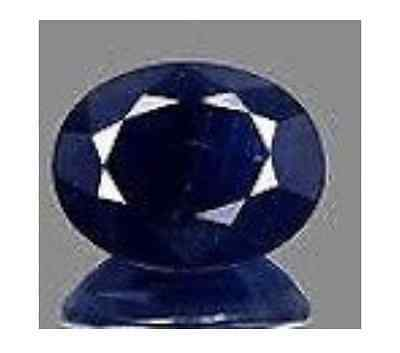AAA Rated Oval Faceted Bright Blue Lab Created Sapphire (3x2mm to 16x12mm)