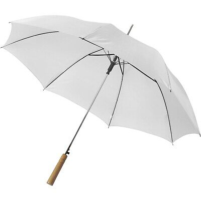 2 X Large Wedding Umbrella - Brides & Bridesmaids - Golf Bridal White & Black