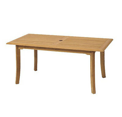 "Grade-A Teak Wood 71"" Fixed Rectangle Dining Table Outdoor Garden Patio New"