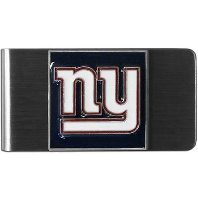 NFL Football New York Giants Large Metal Money Clip with 3D Team Emblem
