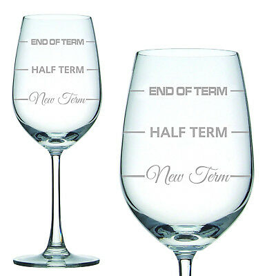 Engraved Wine Glass in Gift Box Teachers End of Term Gift Christmas Mum Nan Xmas