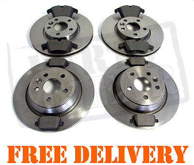 FORD MONDEO 1.6 1.8 2.0 2.2 2.3 TDCi FRONT & REAR DISCS & PADS SET NEW MK4 07-