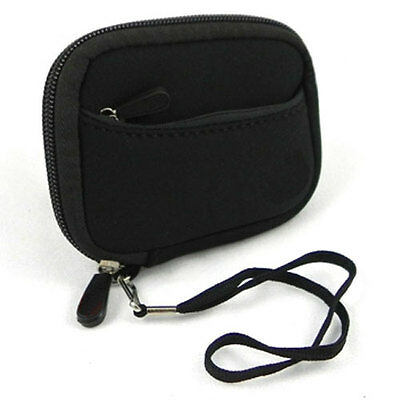 Black Soft Camera Case Canon Powershot S95 Elph 100HS 110HS 300HS 310HS 320HS
