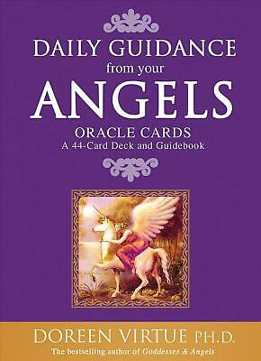 Daily Guidance from Your Angels Oracle Cards: 365 Angelic Messages... by Doreen