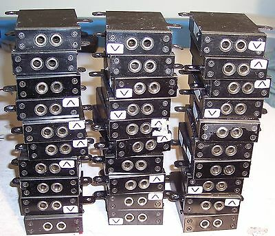 Lot of 5 Planet Equipment 830808-00201 PBX/KEYsystem Jackbox's
