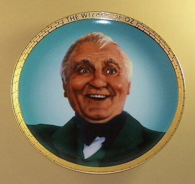 The WIZARD Plate Portraits from Oz MIB + COA The Wizard of Oz Movie Classic