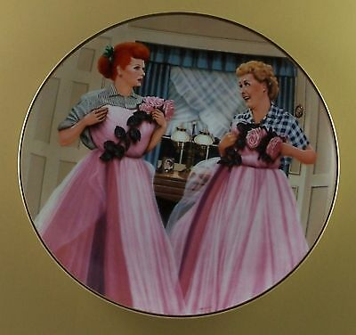TWO OF A KIND The Official I LOVE LUCY Plate Collection +COA TV Series Jim Kritz