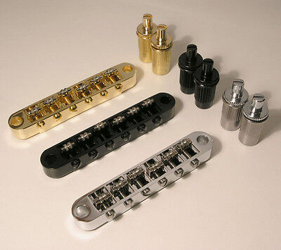 6 string guitar Tune-o-matic style roller bridge B27