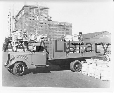 Factory Photo Ref. # 43501 1951 Ford F5 Stake Truck