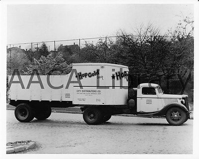 Dumper Brown Brothers Truck Ref. # 43265 1936 Ford Coal Dump Factory Photo