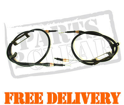 MAZDA & FORD 2 x HAND BRAKE HANDBRAKE CABLES NEW 626 XEDOS 6 MX6 MX-6 PROBE