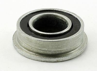 F688-2RS Flanged Unground Sealed 8mm x 16mm x 5mm Miniature Ball Bearing