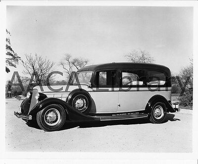 1935 Lincoln Cunningham Ambulance, Factory Photo (Ref. # 53238)