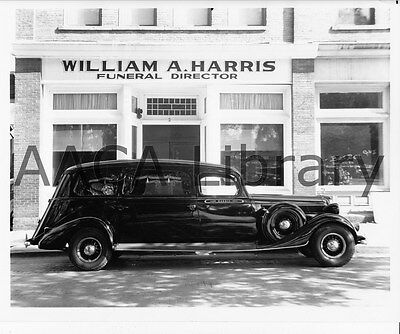 1935 Studebaker Westminster Hearse, Funeral Car, Factory Photo (Ref. # 91008)