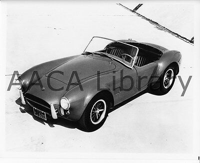 1965 Shelby Cobra 427 roadster, Factory Photo (Ref. # 75003)