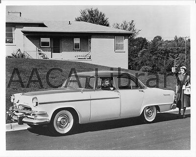 1955 Dodge D55 Coronet Six Four Door Sedan, Factory Photo (Ref. # 38743)
