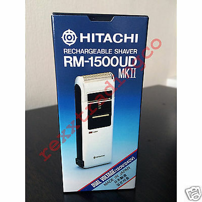 ***NEW*** HITACHI RM-1500UD Rechargeable Electric Shaver Razor MADE IN JAPAN
